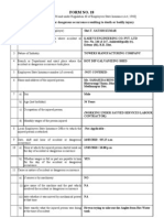 Form 18 Accident Report