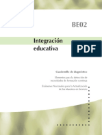 BE02 INTEGRACION EDUCATIVA