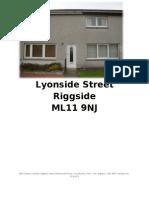 Lyonside Street Riggside NEW