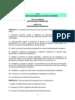 Ley de Participación Ciudadana del Estado de Sonora