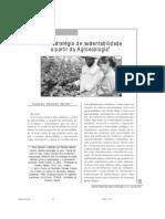Uma estratégia de sustentabilidade a partir da agroecologia