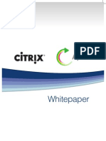 Citrix White Paper v1.0
