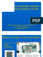 Pitfalls in Hydronic Design Application Installation