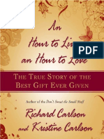 An Hour to Live, An Hour to Love- The True Story of the Best Gift Ever Given