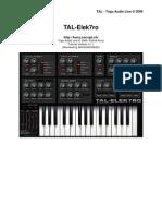 TAL-Elek7ro-UserManual