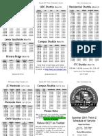 occt summer 2011 term 2 schedule