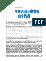 La Descomposicion de PAN