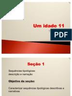 Unidades 11 e 12
