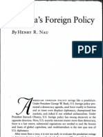 Nau. Obama's Foreign Policy