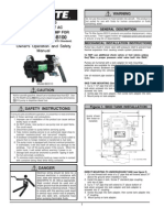 BioDiesel Pump - 115 v - 35 GPM