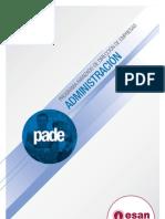 PADE en Administración 2011-II