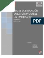 tarea 2 Educación empresario Economia