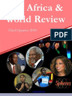 Pan Africa & World Review, 3Q2010, MKamil