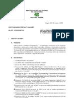 Directiva Administrativa Permanente 017 DIPON-DIJIN del 060709 EXPEDICIÓN DE PERMISOS PARA EL USO DE VIDRIOS POLARIZADOS_ EN