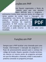 Aula_Funções em PHP