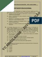 ORIENTADOR EDUCACIONAL - SIMULADO 2011