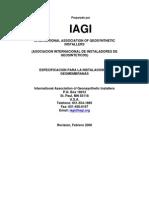 IAGI HDPE-LLDPE Geomembrane Installation Spec - May07 - Spanish