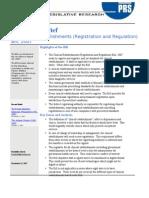 PRS Clinical Establishments Bill