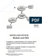 Decision Modelling