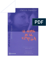 Lispector Clarice - La Hora de La Estrella [PDF]