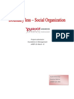 Social Organization_Yahoo Answers