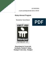 Study Abroad Program - Syllabus New