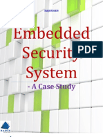 Embedded Security System - Case Study