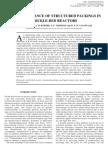 Performence of distillation column
