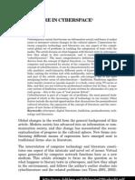 Literature in Cyberspace