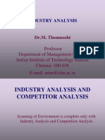 Industry Analysis Guidelines