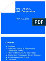 Comprehensive China ASEAN Cooperation 2