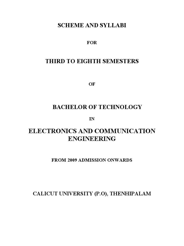 Syllabus For Ec Amplifier Fourier Transform Electronic Circuit Analysis Design Neamen Pdf