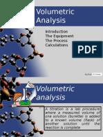 Volumetric Analysis - PW