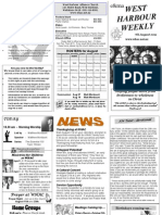 WHAC Newsletter 11.08.07