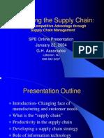 Online Presentation Supply Chain
