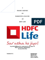 Summer Project on Hdfc Standerd Life Insurance