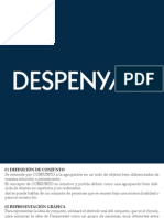 Presentación Despenyat