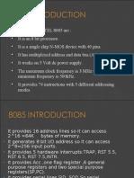 8085 Paper Presentation Full Interface