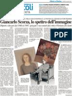 Giancarlo Scorza, lo spettro dell'immagine