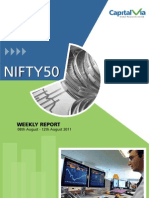 Nifty 50 Reports for the Week (8th - 12th August '11)