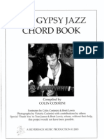 The Gypsy Jazz Chord Book Vol.1