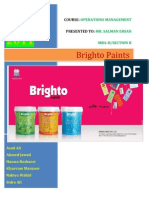 Brighto Paints Final Report