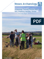 Practical Archaeology Training Course – 2005