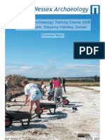 Practical Archaeology Training Course – 2006