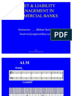 Asset Liability Management in Commercial Banks
