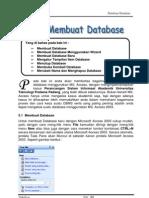 Bab v Membuat Database Ms Access