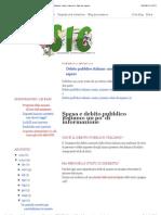 Debito Pubblico Italiano- Nomi, Numeri e Date Da Sapere