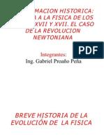 EPISTEMOLOGIA FISICA SIGLOS XVII Y XVIII