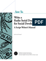 How to Write Radio Serial Drama for Soc Develop