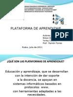 plataforma de aprendizaje